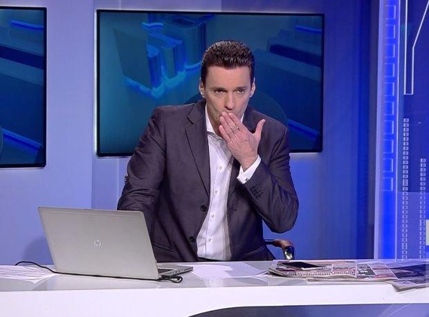 Mircea Badea a trimis minorii la culcare, după care a spus acest banc, în direct, la TV