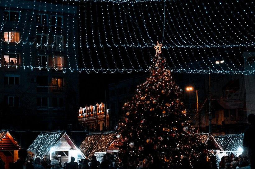 Câți bani a cheltuit Primăria Constanța cu echipamentele pentru iluminatul festiv de Crăciun. Suma e uriașă