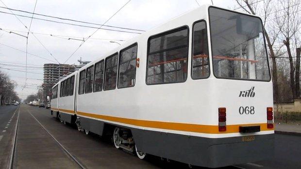 Circulaţia tramvaielor pe şoseaua Colentina a fost reluată