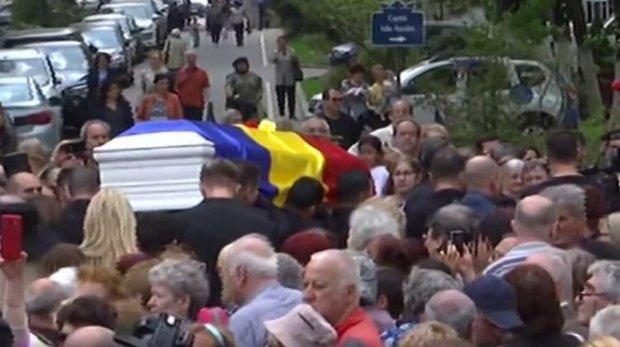 Gestul făcut de Silviu Prigoană la înmormântarea Ionelei Prodan