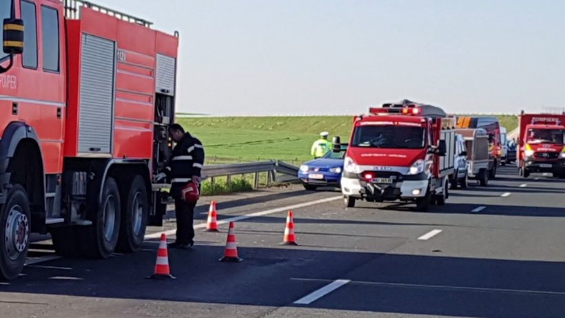 Noi detalii despre accidentulde pe Autostrada Timişoara - Arad. Cine era tânărul care și-a pierdut viața