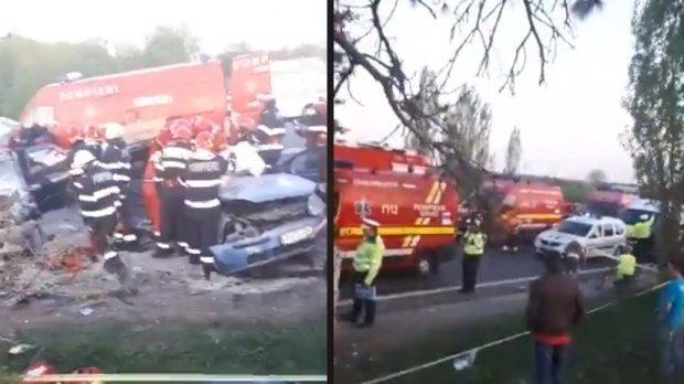 O profesoară de la Politehnică a murit în accidentul de la Tâncăbești. Copiii care se aflau în mașină veneau de la o competiție de înot