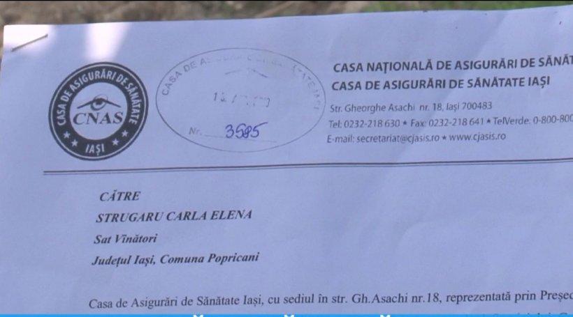 Situație incredibilă la Spitalul de Pediatrie din Iași. O fetiță de șase ani a fost somată să plătească servicii medicale