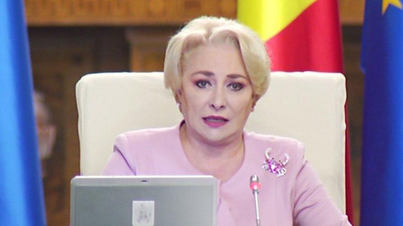 """Dăncilă, despre Comisia pentru trecerea la euro: """"S-a trecut la discuţii tehnice"""""""