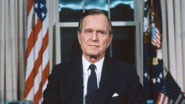 Fostul preşedinte american George Bush, internat de urgență la spitalVIDEO