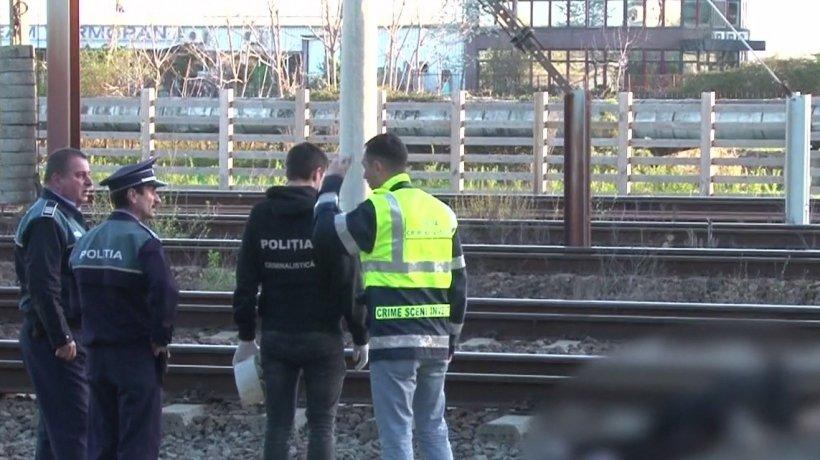 O femeie a murit, după ce a fost lovită de tren în Bucureşti