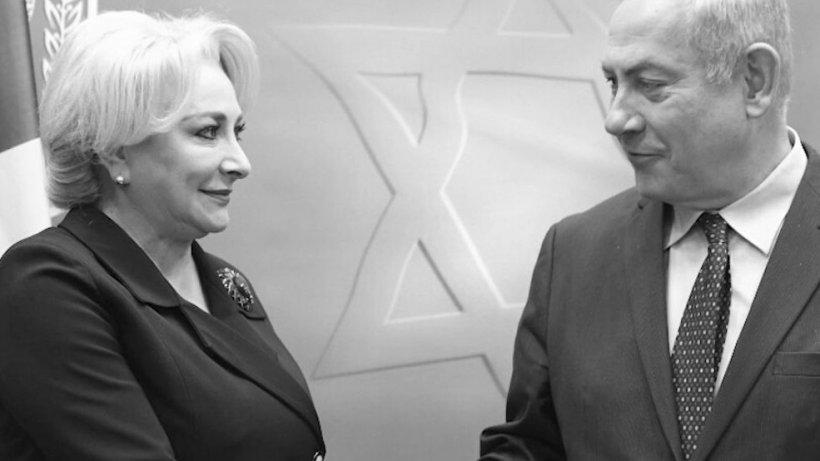 Premierul Dăncilă și Netanyahu s-au întâlnit la Israel. Ce spune premierul israelian despre mutarea ambasadei României la Ierusalim