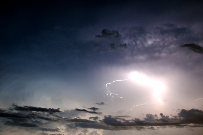 Cod galben de vreme rea emis de meteorologi