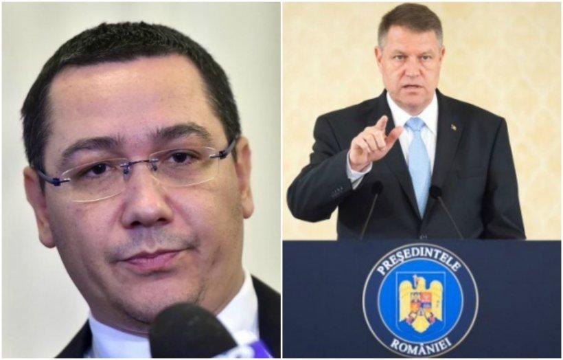 Ponta: Să spui despre Iohannis că este 'antisemit' este o declaraţie gravă