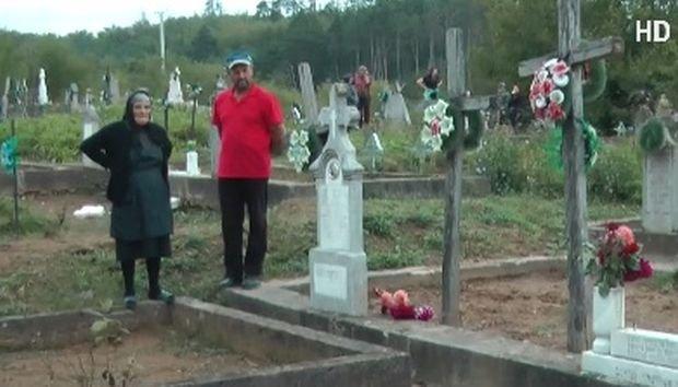 Incident șocant în Cluj-Napoca! Un copil de opt ani, strivit de crucea fratelui său în cimitir
