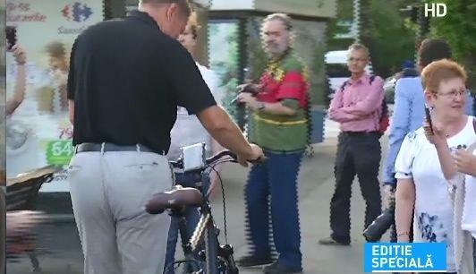 Unde l-a dus bicicleta pe Iohannis de 1 Mai