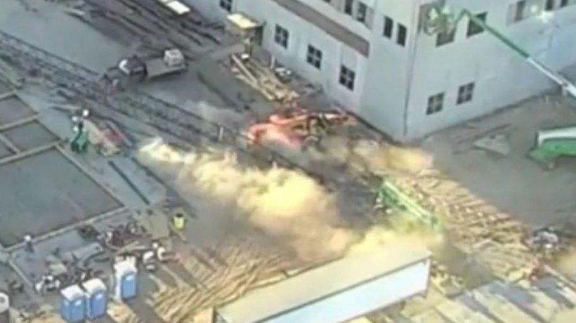 Grav accident în Portul Constanța. Brațul unei macarale s-a prăbușit. Bilanțul victimelor - VIDEO