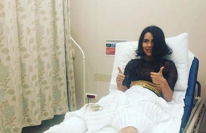 Inna a ajuns la spital după ce scena pe care cânta s-a prăbușit, în timpul concertului din Istanbul - VIDEO