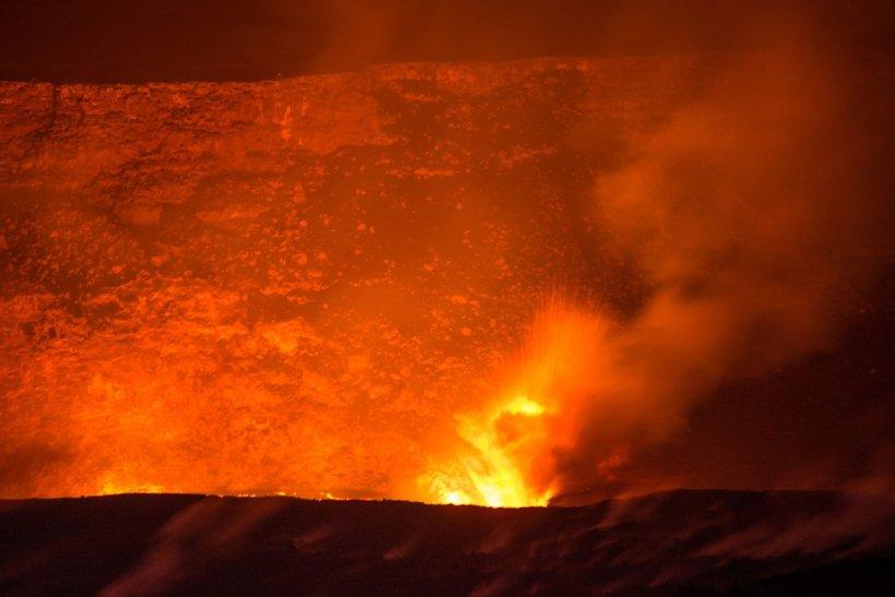 Alertă roşie în Hawaii. Gaze toxice în atmosferă