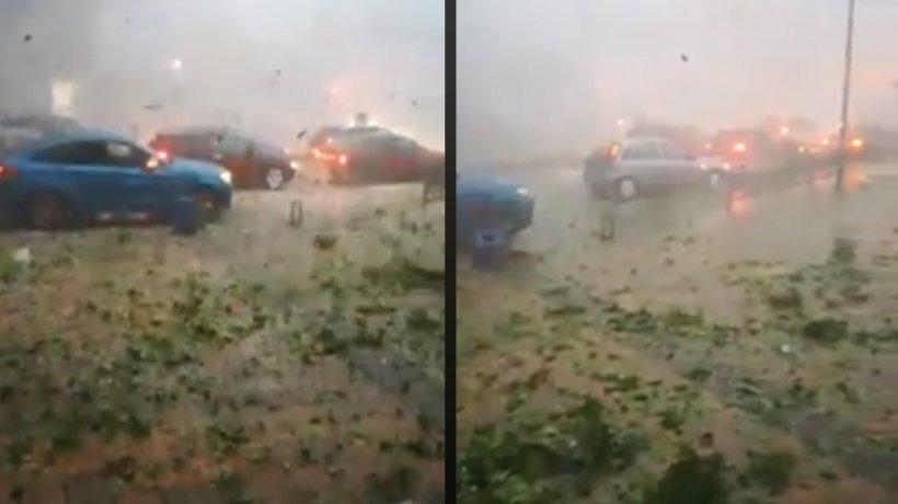 Imagini incredibile!Tornadă devastatoare în Germania - VIDEO