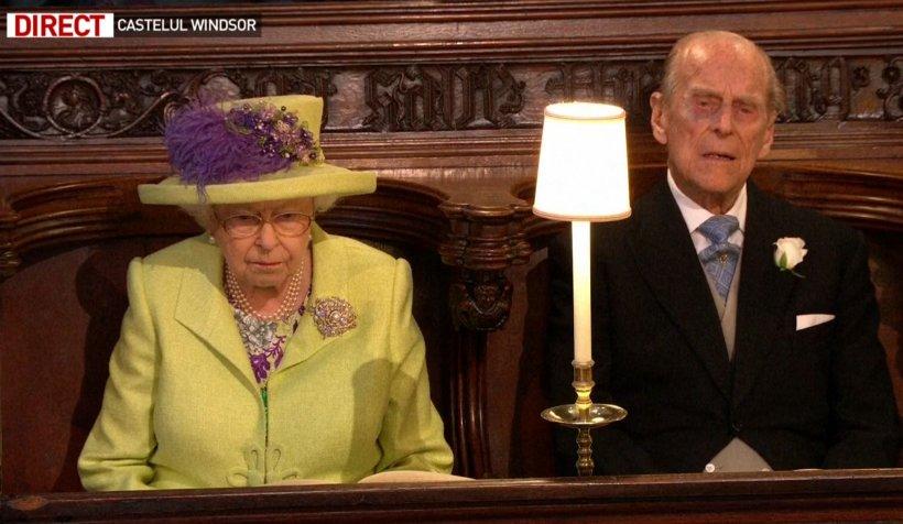 Detaliul ciudat de la nunta lui Harry și a lui Meghan. Ce a făcut Regina Elisabeta