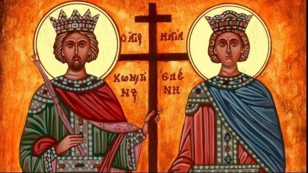 Sfinții Constantin și Elena. Mesaje, urări și sms-uri pentru cei dragi