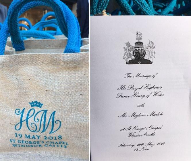 Prințul Harry și Meghan Markle le-au oferit invitaților la nuntă o pungă plină cu cadouri. Ce conținea aceasta
