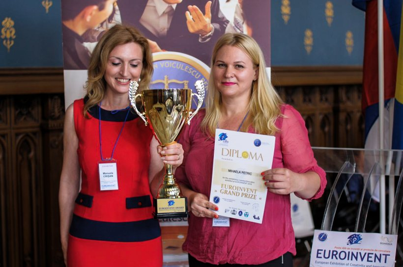 Mihaela Petric a câștigat bursa FDV de 10.000 de lei cu un proiect inovator în domeniul medicinei