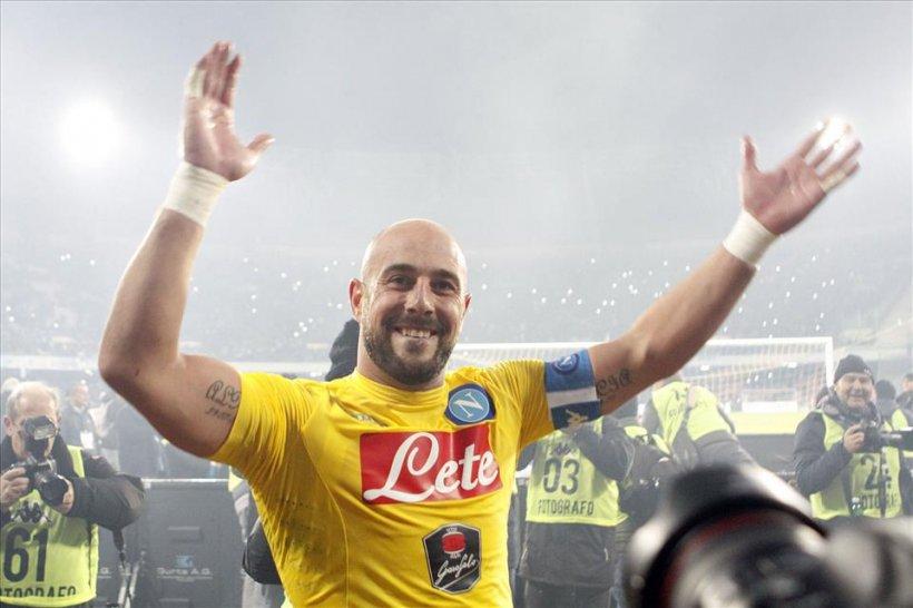 Portarul lui Napoli, Pepe Reina, pus sub acuzare pentru legături cu Mafia italiană