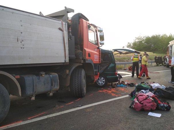 Detaliul cumplit despre accidentul din Ungaria: În realitate, au fost zece victime