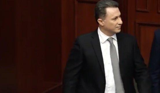 Fostul premier al Macedoniei, condamnat la doi ani de închisoare