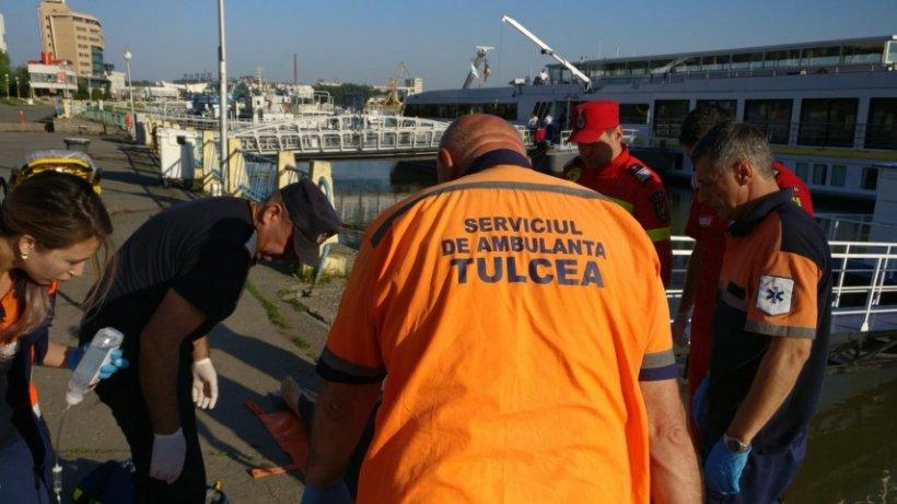 Bărbat înecat în Dunăre. Pompierii nu au putut să-l salveze
