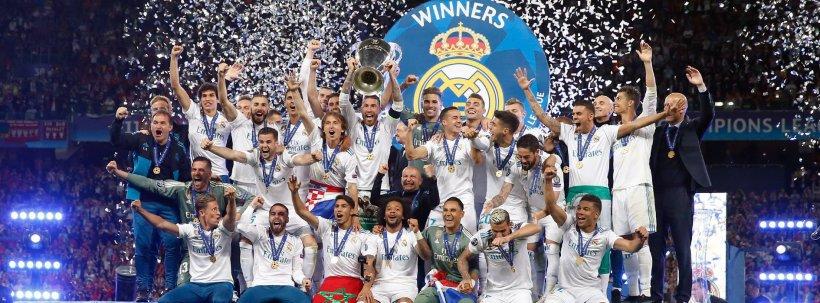 Real Madrid câștigă pentru a treia oară consecutiv trofeul Champions League. Zidane și Bale, eroii serii
