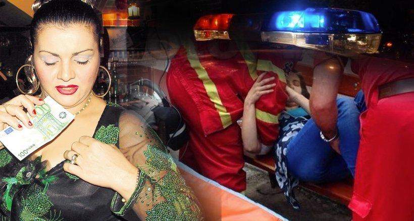 Cornelia Catanga, scandal cu poliţie şi leşinuri, în public! Artista e în stare de şoc!