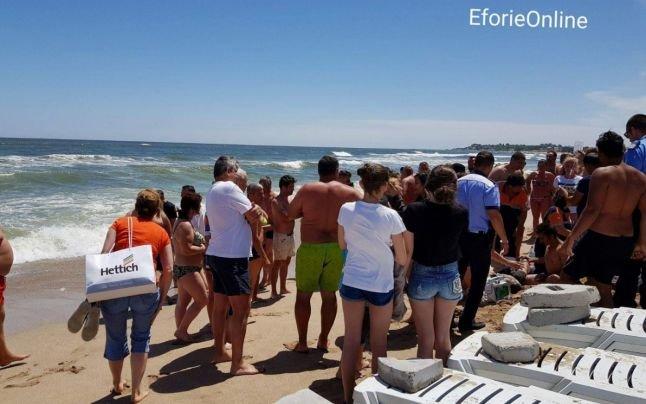 Un turist din București a murit înecat la Eforie Nord
