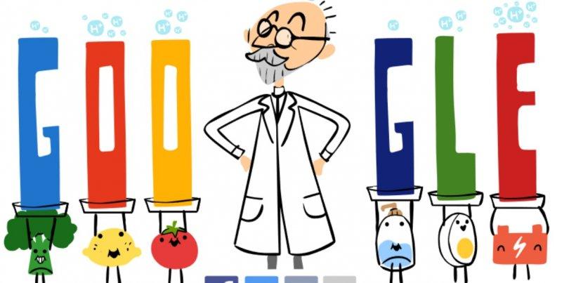 SPL Sørensen, omagiat de Google cu un Google Doodle special. Chimistul care a schimbat lumea