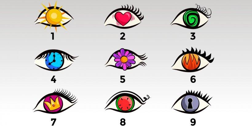 Test: Alege ochiul care îți place mai mult și află un secret al personalității tale