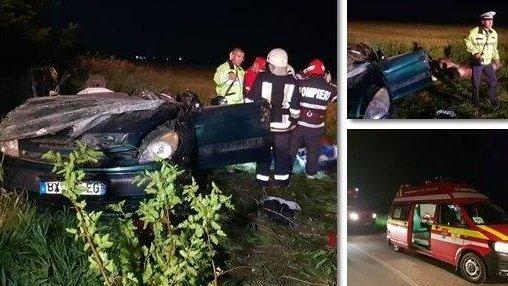 Tragedie pe șosea! Cinci oameni au murit, iar un copil de opt ani a fost rănit în urma unui accident rutier produs în Timiş