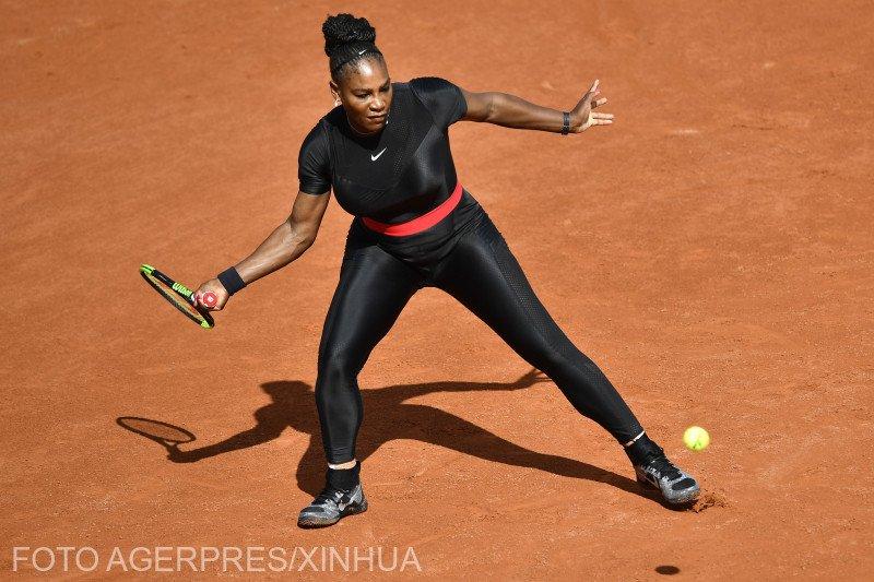 Adevăratul motiv pentru care Serena Williams a îmbrăcat un costum negru la Roland Garros
