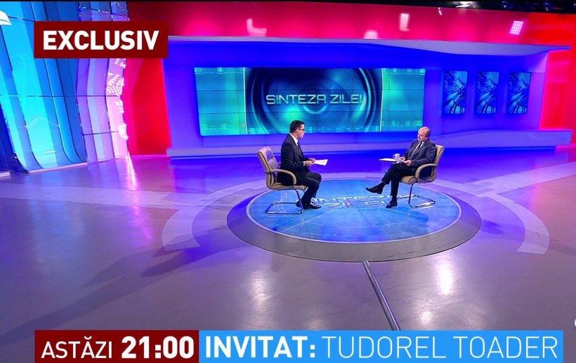 Tudorel Toader, la Sinteza Zilei în această seară, de la ora 21.00. Cu Mihai Gâdea