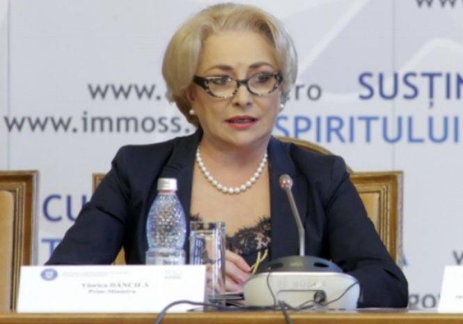"""Viorica Dăncilă, despre moțiunea de cenzură: """"Nu am nicio emoţie"""""""