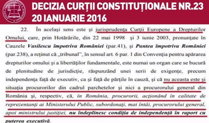 Raportul Comisiei de la Veneția privind standardele europene pentru un sistem judiciar independent - Documentul care închide orice discuție