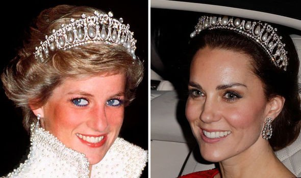 De ce i s-a interzis lui Kate să poarte toate bijuteriile Prințesei Diana? Meghan Markle e de vină