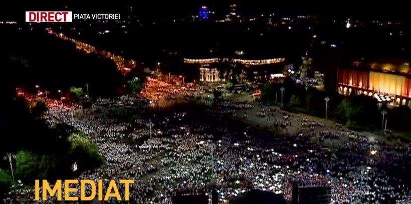 Miting PSD s-a încheiat. Piața Victoriei s-a luminat cu lanterne. Cele mai importante mesaje transmise de liderii Coaliției (FOTO+VIDEO) 16