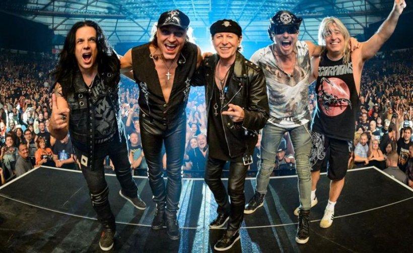 Trupa Scorpions, din nou în România. Va susține un concert de neuitat