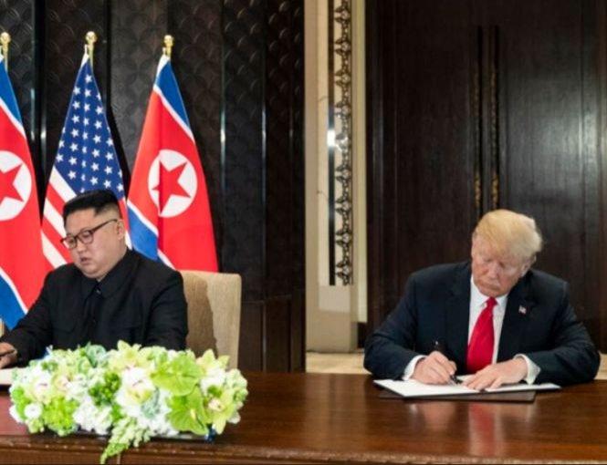 """Donald Trump: """"Nu mai există ameninţarea nucleară a Coreei de Nord"""""""