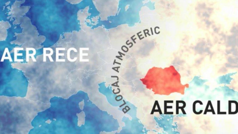 """România se confruntă cu un blocaj atmosferic. Meteorolog: """"Sunt situații care până acum zece ani nu s-au întâlnit atât de frecvent"""" 16"""