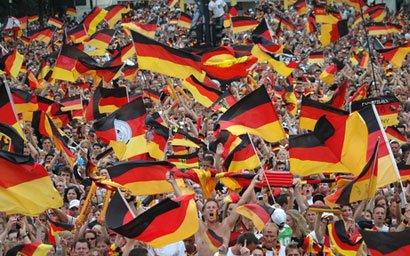 Cum a venit un fan german la Cupa Mondială din Rusia. Polițiștii au rămas mască