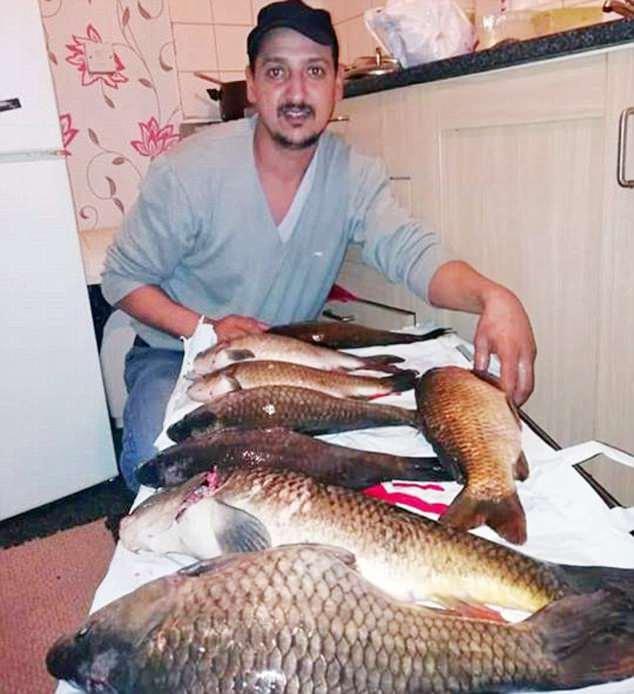 Români, acuzați că fură peștele din iazurile pescarilor sportivi din Marea Britanie 127