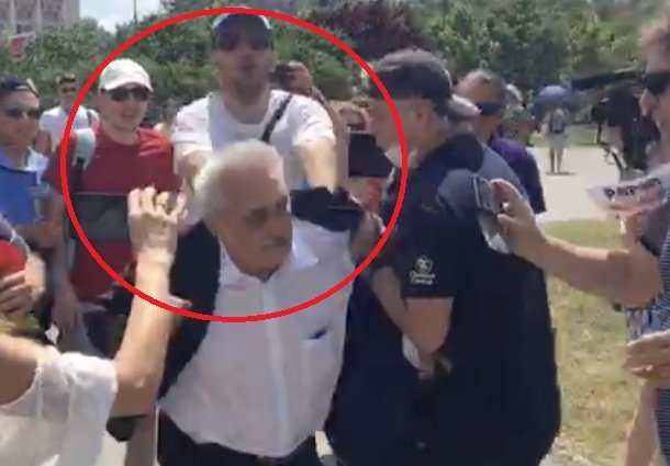 Reacţia deputatului Nicolae Bacalbaşa după ce a fost agresat