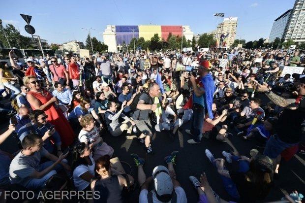Cod roșu de proteste împotriva Guvernului Dăncilă
