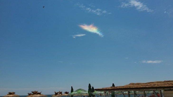 Apariție spectaculoasă pe cer, la Năvodari. E un fenomen rar