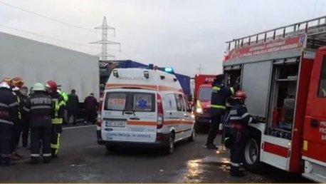 Accident grav în Ialomița! Sunt șapte victime. A fost activat planul roşu de intervenţie