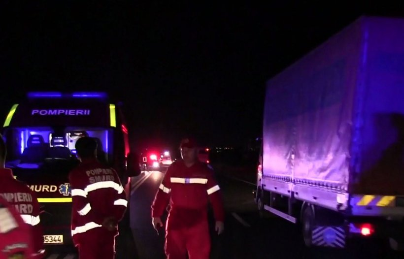 Autocar cu 49 de copii şi 11 adulţi s-a răsturnat la Constanța. Planul roșu de intervenție a fost activat