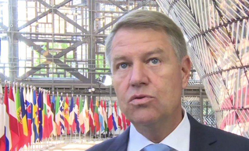 """Klaus Iohannis, declarații la Bruxelles despre problema migranților: """"Am ajuns la un acord foarte bun pe această temă"""""""